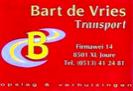 Bart de Vries Transport